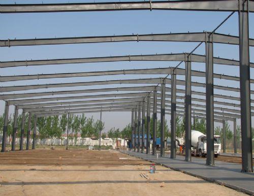 山西太原钢结构汽车展厅