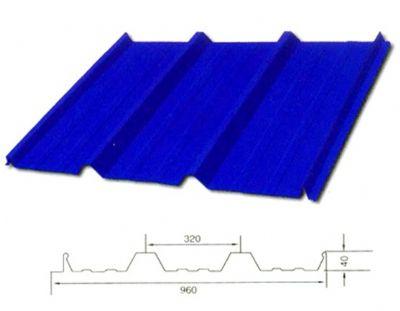 YX40-320-960型(隐藏式彩钢板)